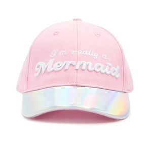 Girls Mermaid Baseball Hat